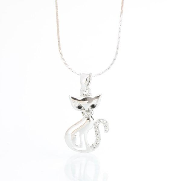 Naszyjnik z kryształami Swarovski Elements Laura Bruni Cat