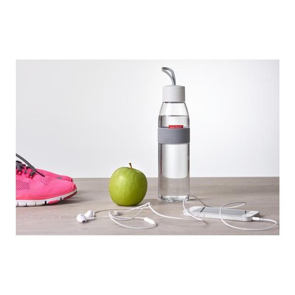 Różowa butelka na wodę Rosti Mepal Ellipse, 500 ml
