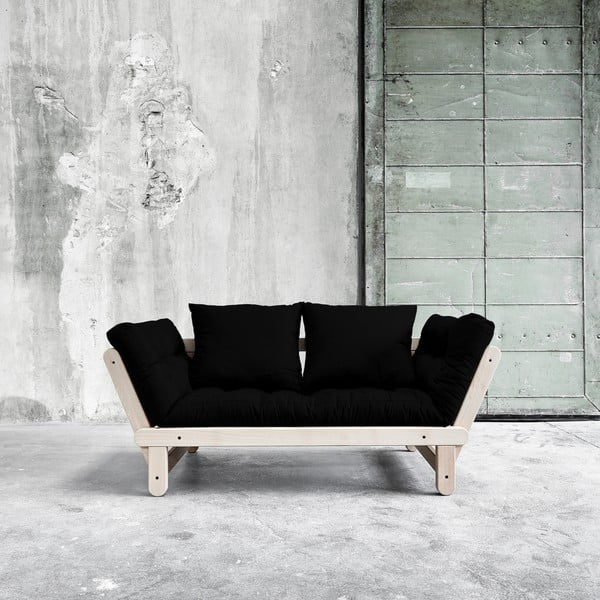 Sofa rozkładana Beat Beech/Black