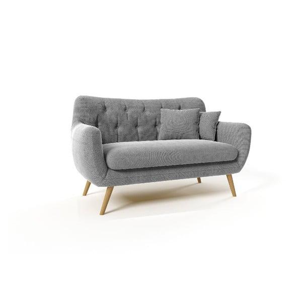 Dwuosobowa sofa Renne, szara