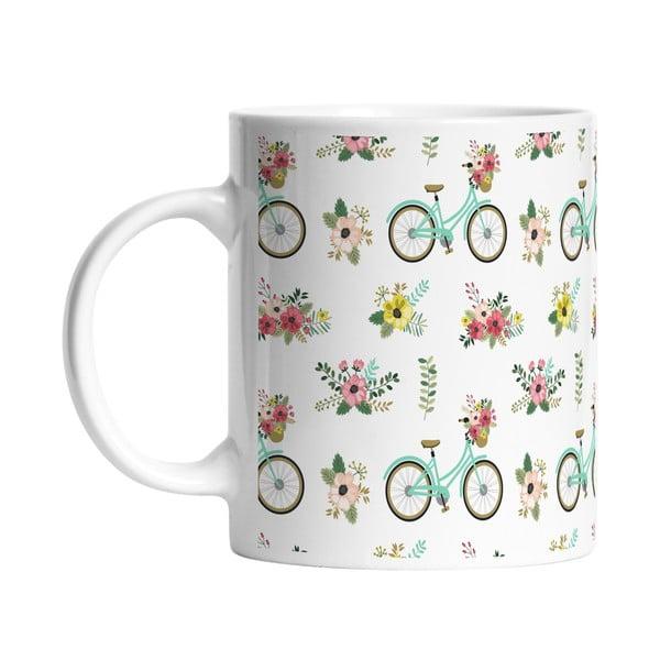 Ceramiczny kubek Spring Bikes, 330 ml