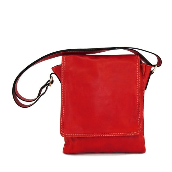 Skórzana torebka unisex Norado Rosso