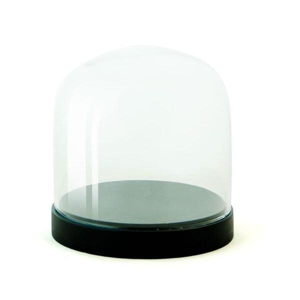 Pojemnik szklany Pleasure Dome Black, 13 cm
