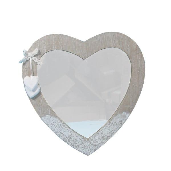 Lustro Bolzonella w kształcie serca