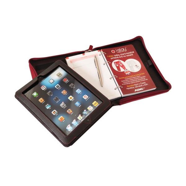 Etui na tablet z kalendarzem ADK Paradox, czarno-czerwony