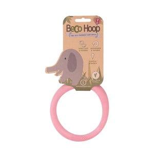 Obręcz, zabawka dla psa Hoop Small, różowa