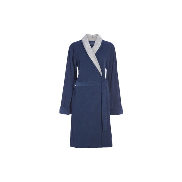 Szlafrok Esprit Eve, jeansowo- niebieski, rozm. XL