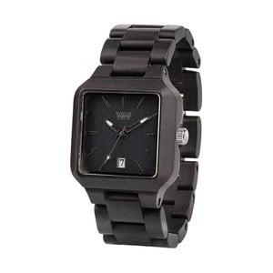 Drewniany zegarek Metis Black