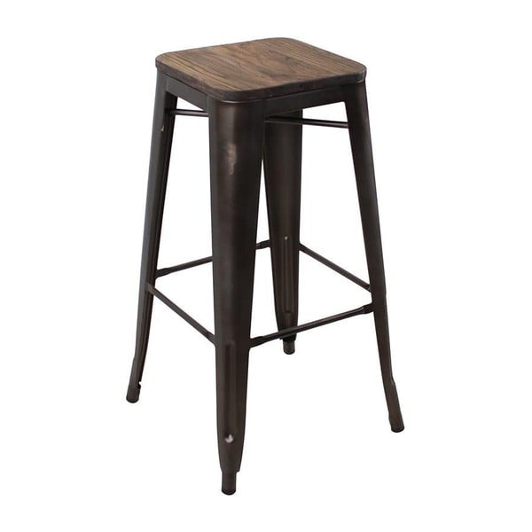 Taboret Rusy Brown