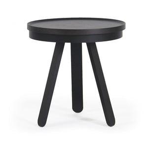 Czarny stolik z tacą Woodendot Batea S