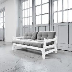 Sofa rozkładana Karup Step White/Gris
