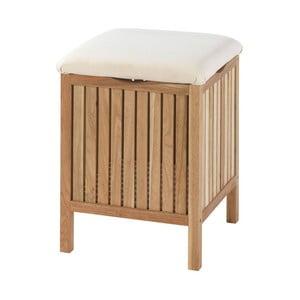 Drewniany stołek łazienkowy Wenko Norway