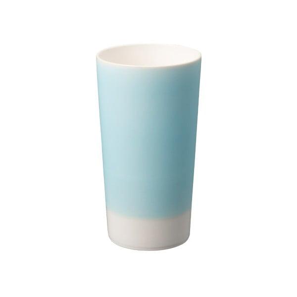 Porcelanowa szklanka do piwa Tumbler, niebieska
