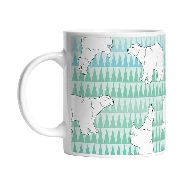 Ceramiczny kubek Polar Friends, 330 ml