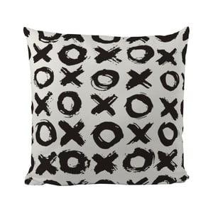 Poduszka Black Shake XOXO, 50x50 cm