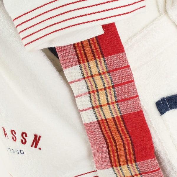 Zestaw damskiego szlafroka i 2 ręczników U.S. Polo Assn. Nebraska, roz. M/L