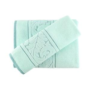 Zestaw mentolowego ręcznika i ręcznika kąpielowego Sultan