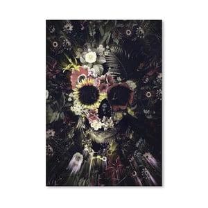 "Plakat autorski ""Garden Skull"""