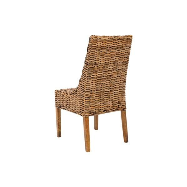 Zestaw 2 foteli ratanowych Suncoast, jasnych