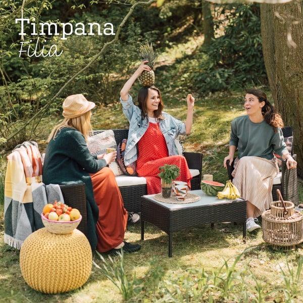 Zestaw mebli ogrodowych ze sztucznego rattanu Timpana Filia