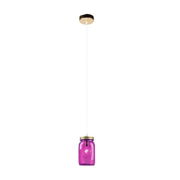 Lampa sufitowa Jars, fioletowa