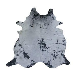 Szara skóra bydlęca, 231x194 cm