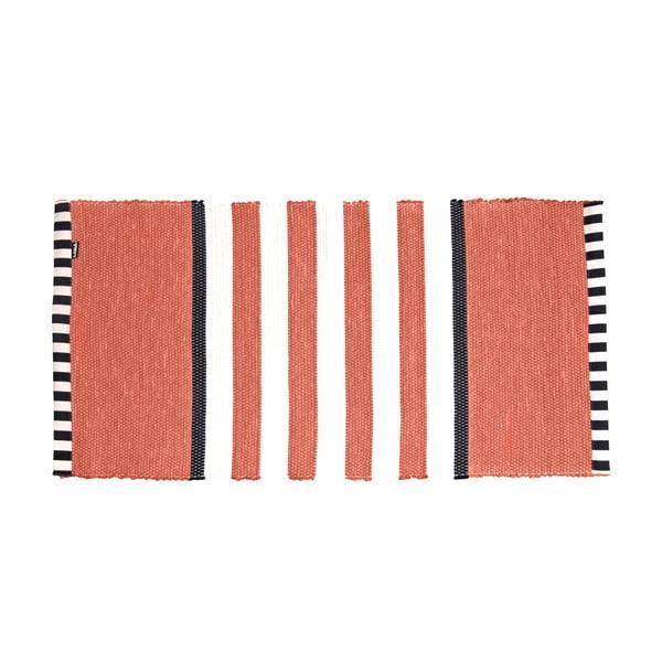 Dywan Lona Stripes 130x65 cm, czerwony