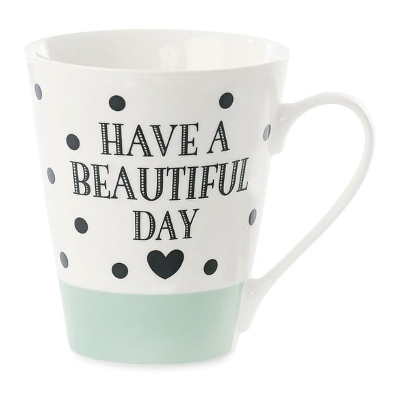 Kubek porcelanowy Coffee Have A Beautiful Day