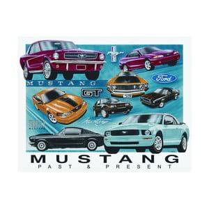 Blaszana tabliczka Mustang, 30x40 cm