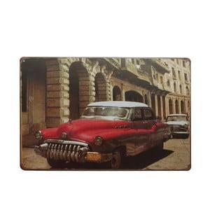 Tablica Cuban Car, 20x30 cm