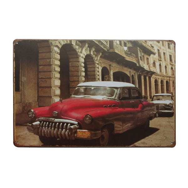 Tablica Cuban Car, 20x30 cm