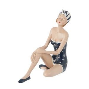 Dekoracja Sitting Woman in Swimsuit