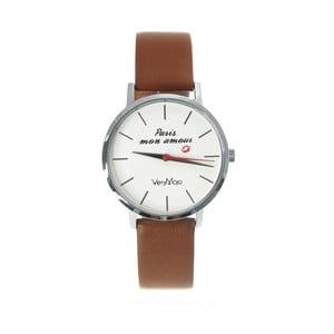 Zegarek VeryMojo Paris Mon Amour, brązowy