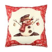 Poduszka Snowman Red&White, 43x43 cm