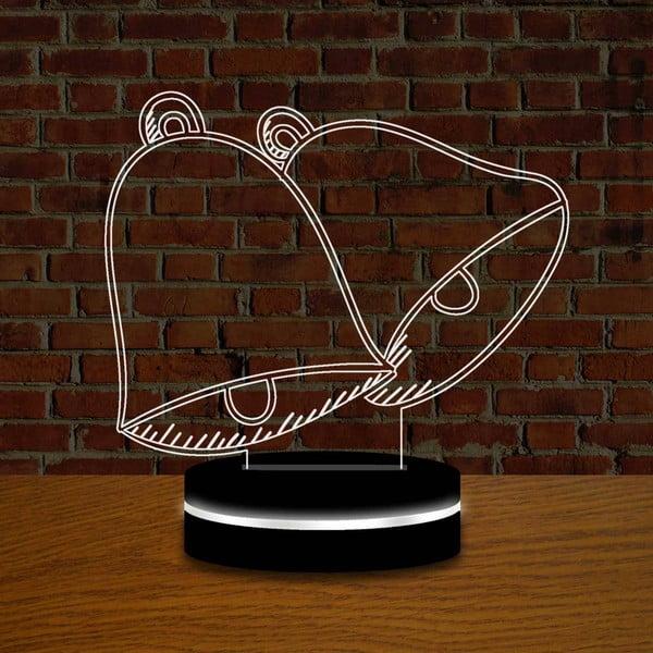 Lampa z efektem 3D Christmas no. 1