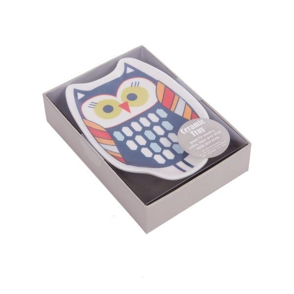 Miska na biżuterię Owl