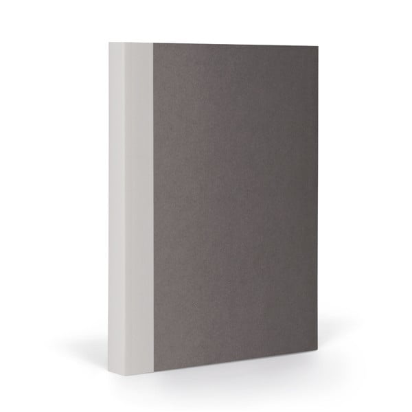 Notes FANTASTICPAPER A5 Stone/Warm Grey, w kratkę
