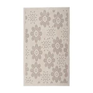 Kremowy dywan bawełniany Floorist Randa, 80x150cm