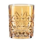 Szklanka do whisky ze szkła kryształowego Nachtmann Highland Amber, 345 ml