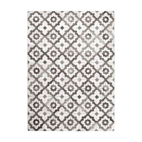 Winylowy dywan Patchwork Vintage Grises, 99x120 cm
