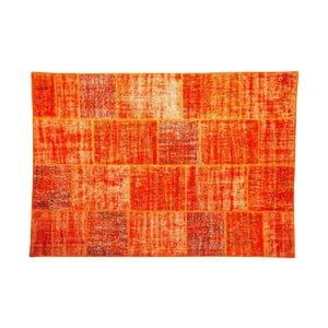 Dywan wełniany Allmode Orange, 150x80 cm