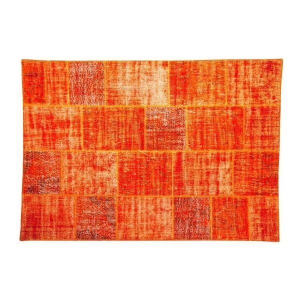 Dywan wełniany Allmode Orange, 180x120 cm