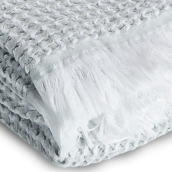 Ręcznik Whyte 100x160 cm, biało-szary