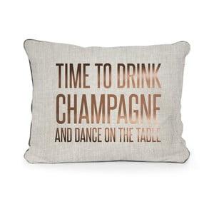 Poszewka na poduszkę z mikrowłókna Really Nice Things Champagne, 50x35 cm