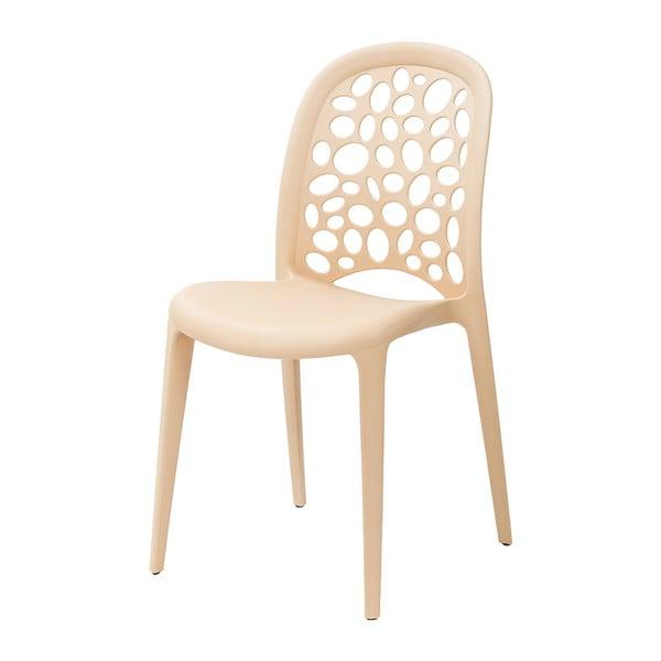 Krzesło Allegra, kremowe