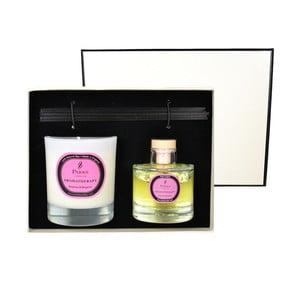 Podarunkowy zestaw świeczki i dyfuzoru Aromatherapy, zapach rozmarynu