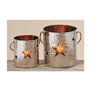 Zestaw 2 świeczników Star Shena