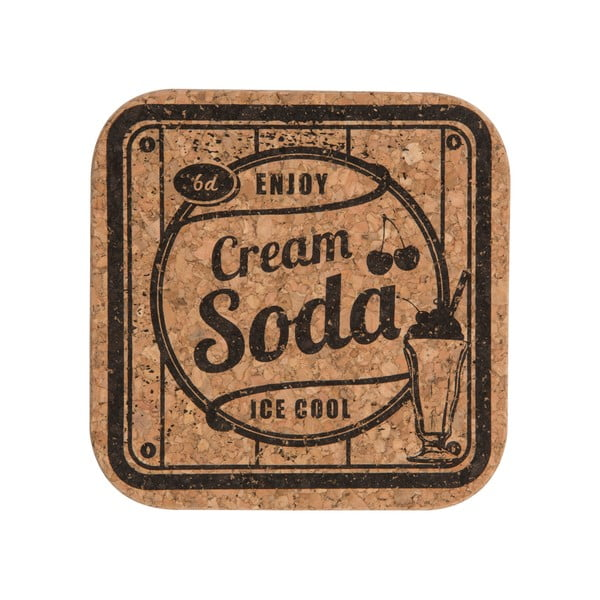 Zestaw 4 podkładek Soda Cordial