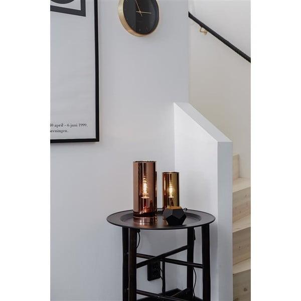 Lampa stołowa w kolorze mosiądzu Markslöjd Storm, ⌀ 9 cm