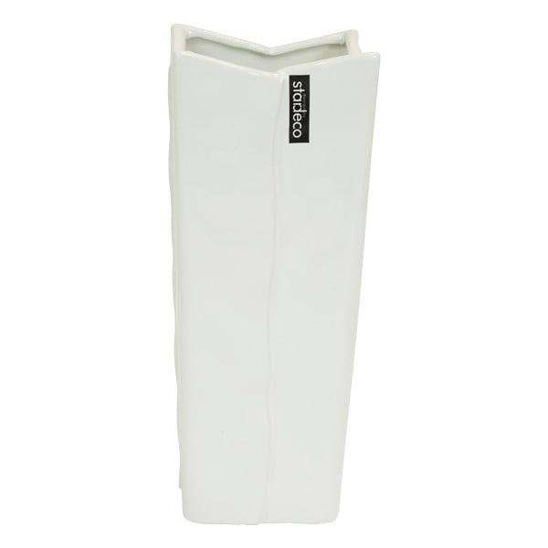 Ceramiczny wazon Sirlon 30 cm, biały
